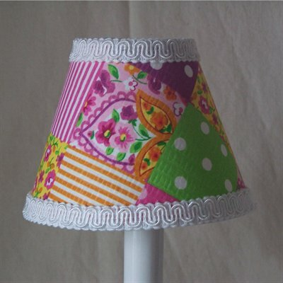 Patchwork Patterns Night Light by Silly Bear Lighting
