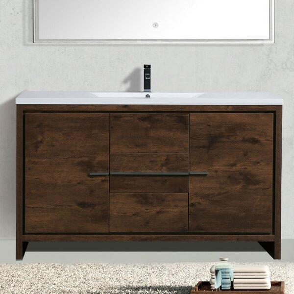 Almendarez Modern 59 Single Bathroom Vanity Set by Langley Street