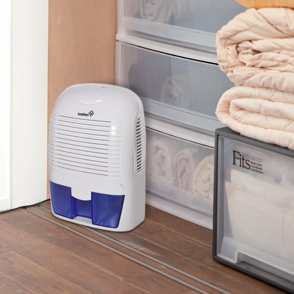 Ivation GDM30 Powerful Mid-Size Thermo-Electric 1.25 Pint Dehumidifier by Ivation