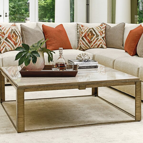 Laurel Canyon Sled Coffee Table By Lexington