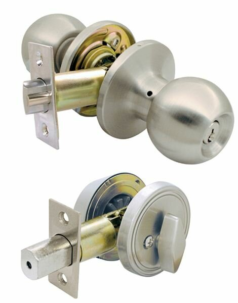 Single Cylinder Entrance Knobset by Ultra Hardware