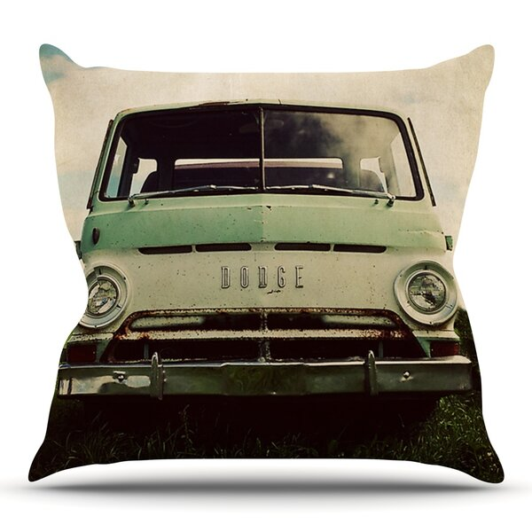 Dodge by Angie Turner Outdoor Throw Pillow by East Urban Home