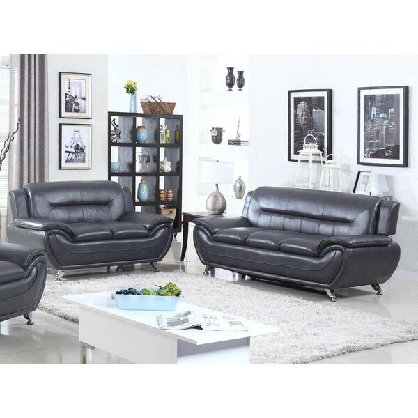 Macaire 2 Piece Living Room Set