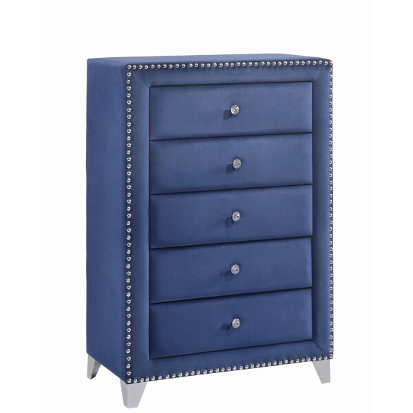 Malone 5 Drawer Chest by Rosdorf Park