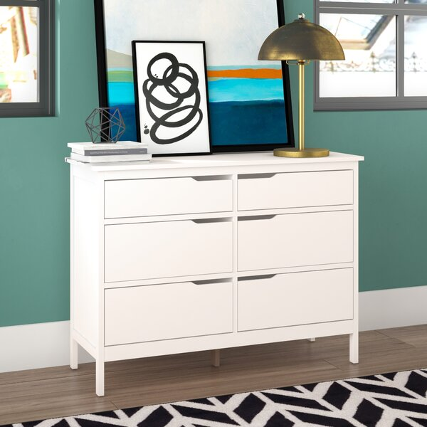 Arlot 6 Drawer Double Dresser by Mack & Milo