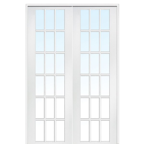 MDF 2-Panel Primed Interior French Door by Verona Home Design