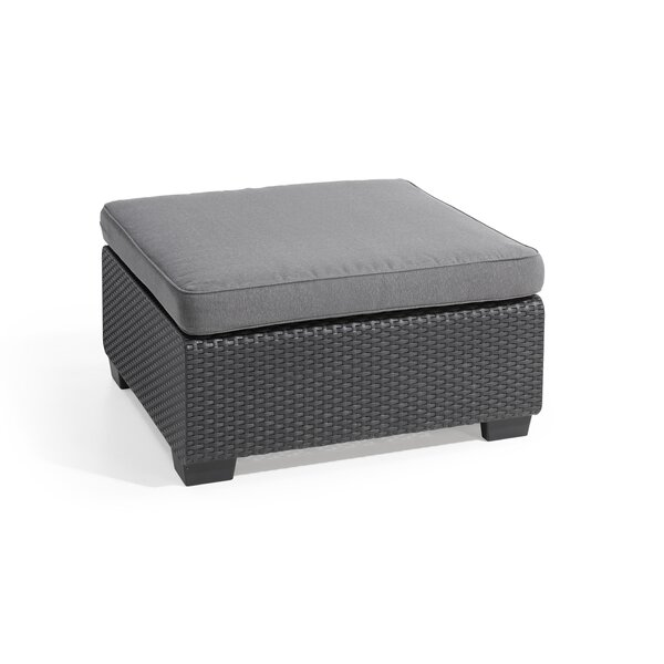 Hallock Ottoman with Cushion by Ivy Bronx