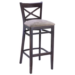 Anadolu Cross Back 30 Bar Stool by Gracie Oaks