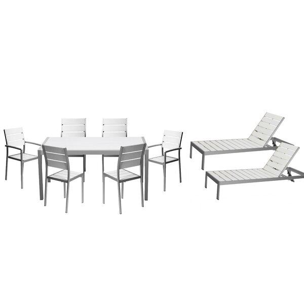 Kiera 9 Piece Patio Set by Modern Rustic Interiors