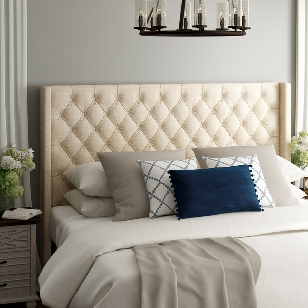Neher Upholstered Wingback Headboard by Brayden Studio