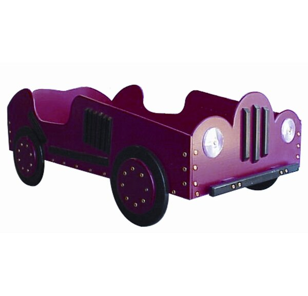 Phipps Old Style- Race Toddler Car Bed by Zoomie Kids