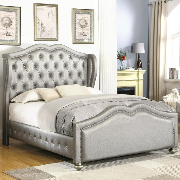 Norma Upholstered Standard Bed by Rosdorf Park
