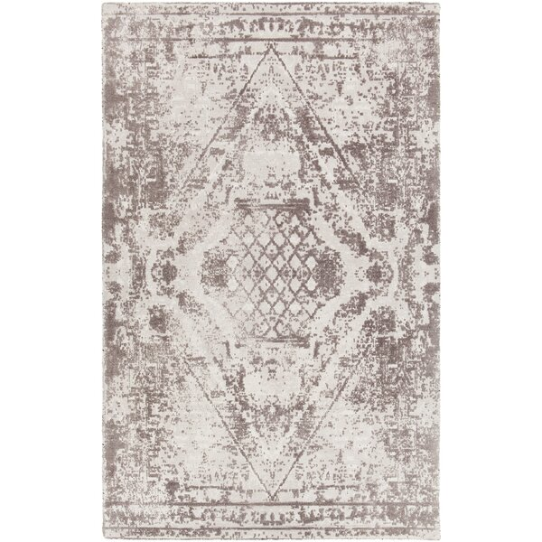 Cristal Hand-Tufted Gray/Charcoal Area Rug by Bungalow Rose