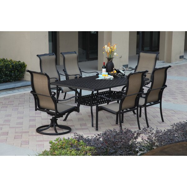 Bagwell 7 Piece Dining Set by Darby Home Co