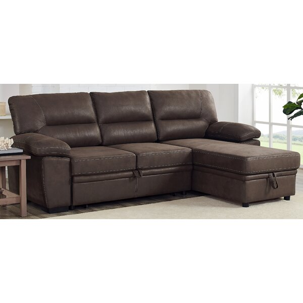 Valuable Brands Sebring Reversible Sleeper Sectional by Ivy Bronx by Ivy Bronx