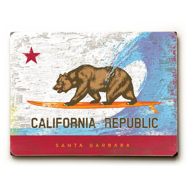 California Republic Vintage Advertisement by Artehouse LLC