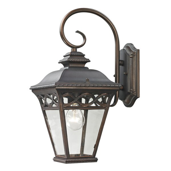 Tomas 1-Light Outdoor Wall Lantern by Charlton Home