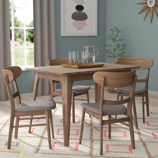 Genial Yolanda 5 Piece Wood Dining Set