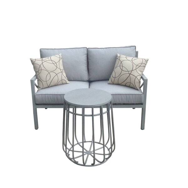 Wrigley 2 Piece Sofa Seating Group with Cushions by Brayden Studio