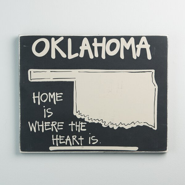 Oklahoma State Graphic Art by Glory Haus