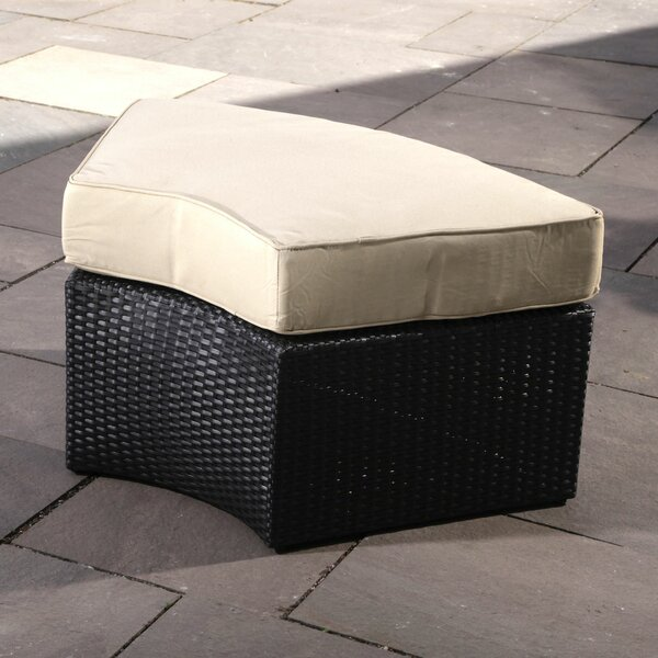 Santorini Ottoman with Cushion by Madbury Road