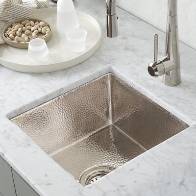 Native Trails Kitchen Sink Undermount Polished Nickel Kitchen Utility Sinks