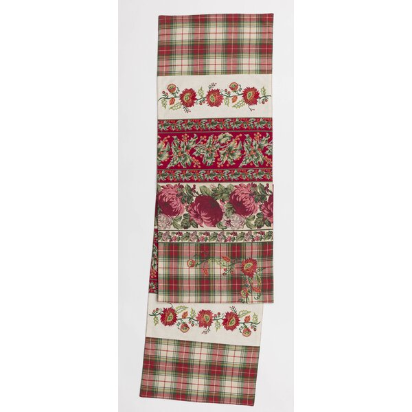 Cleary Christmas Patchwork Table Runner by August Grove
