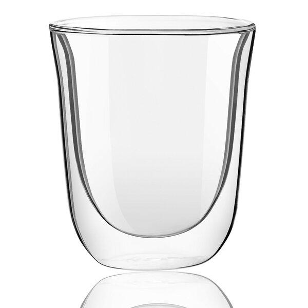 Levitea Double Wall Glass 8.4 oz. Every Day Glass (Set of 2) by JoyJolt