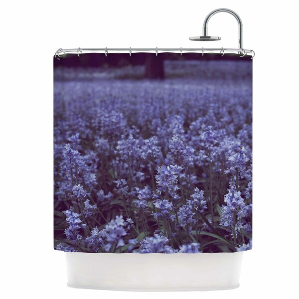 Bluebell Forest Shower Curtain by East Urban Home
