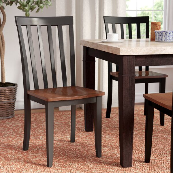 Lancelot Slat Back Side Chair (Set of 2) by Andover Mills