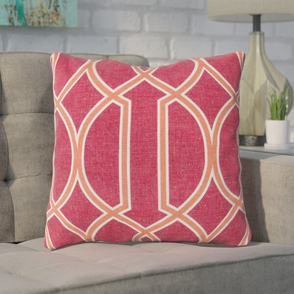 Georgios Intersecting Lines Throw Pillow by Mercury Row
