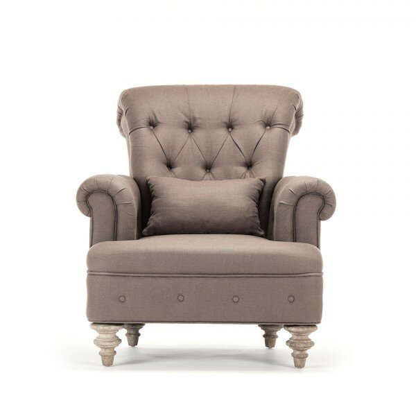 Dowson Tufted Armchair by Canora Grey