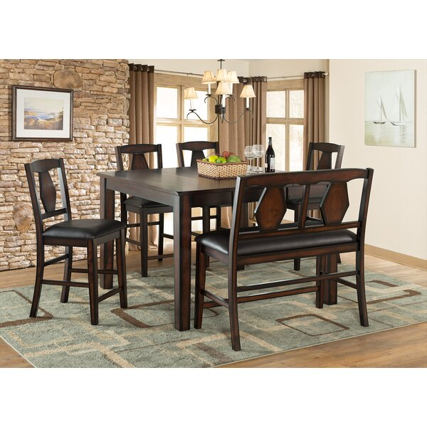 Tuscan Hills 6 Piece Extendable Dining Set by Vilo Home Inc.