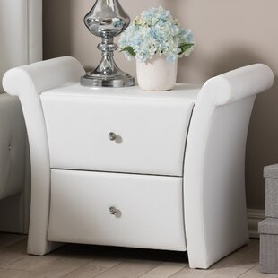 Affordable Genoa 2 Drawer Nightstand by Latitude Run