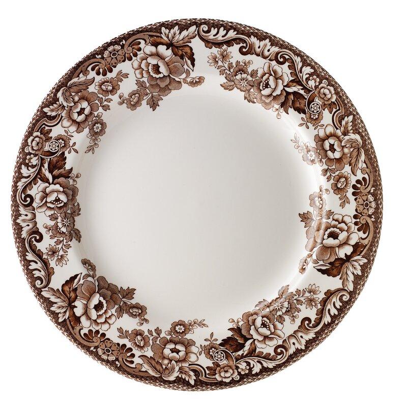 """Delamere 10.5"""" Bone China Dinner Plate"""