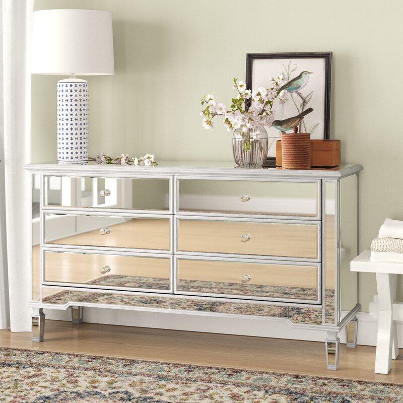 Alderton 6 Drawer Double Dresser