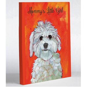 'Mommy's Little Girl' Painting Print on Wrapped Canvas by Andover Mills