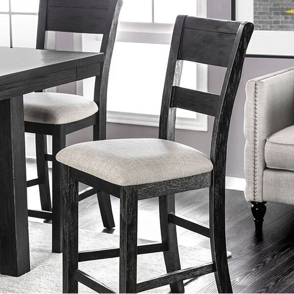 Zelma Solid Wood Dining Chair (Set of 2) by Gracie Oaks