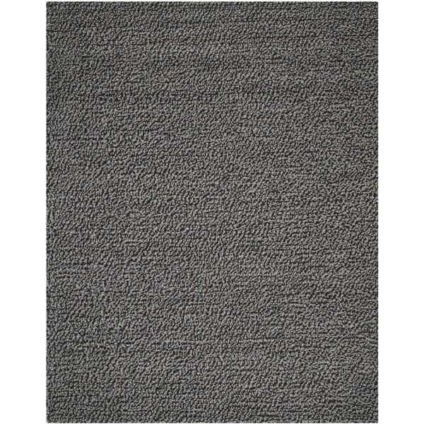Sinope Dark Gray Area Rug by Brayden Studio