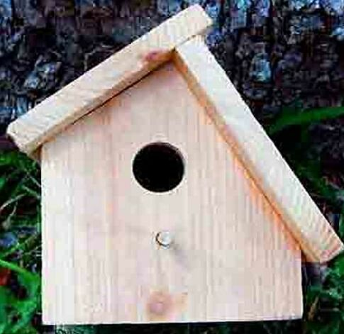 8 in x 6 in x 6 in Birdhouse by Cedar Creek Woodshop