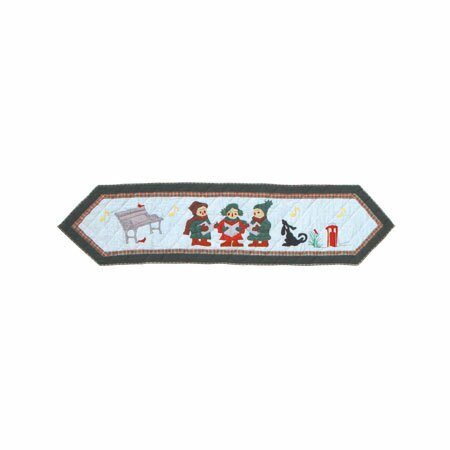 Carolers Table Runner by Patch Magic