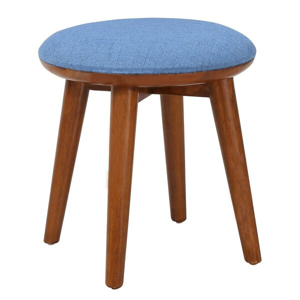 Pixie Upholstered Vanity Stool by Porthos Home
