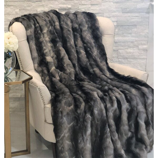 Besser Faux Acrylic Blanket by Foundry Select