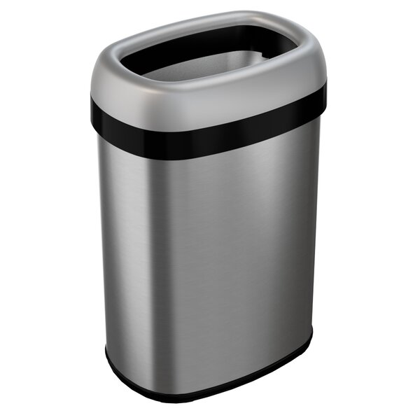 Dual-Deodorizer 13 Gallon Trash Can by Rebrilliant
