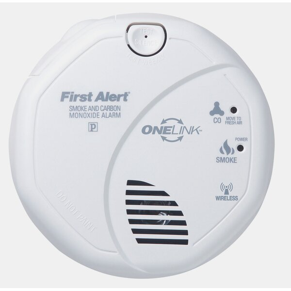 OneLink Enabled Smoke and Carbon Monoxide Alarm by First Alert