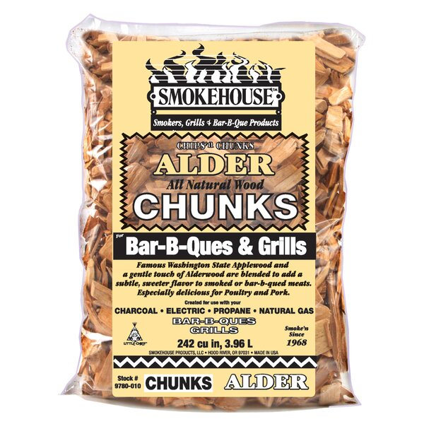 Alder Wood Chunk by SmokehouseGrills