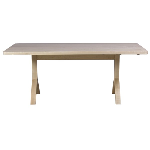 Ebling Maple Solid Wood Dining Table by Brayden Studio