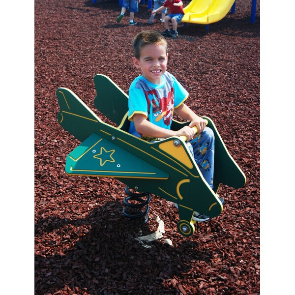 Spring Airplane by Kidstuff Playsystems, Inc.