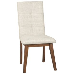 Review Escoto Upholstered Dining Chair (Set of 2) by Corrigan Studio