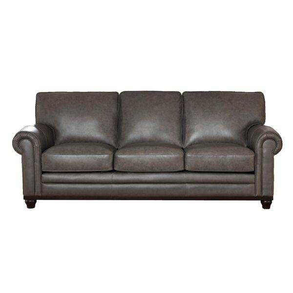 Stafford Leather Sofa by Westland and Birch